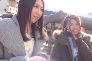 【素人】「イメージモデルやりませんか?」ふなっしーの街でナンパした女子大生二人組