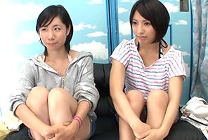 【海ナンパ】ショートカット好きには堪らない激カワ女子大生2人組
