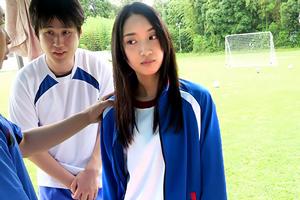 辻本杏 名門サッカー部で性処理奴隷として扱われる女子マネージャー