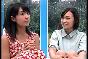 【マジックミラー号】清楚な女子大生2人組を初体験の電マでイカせまくって…