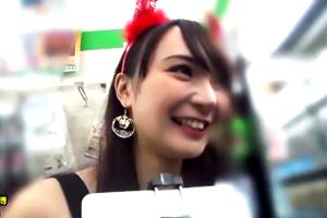 【ハロウィンナンパ協奏曲】渋谷で奇跡のハメ撮り成功。