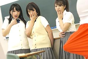 隠し切れない巨根のおかげで転校先でクラスの女子に中出し三昧!