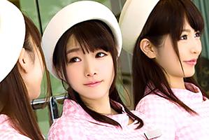 (シロウトキャッチ)新宿で働くスレンダラスな美足デパートガールと4P☆