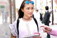 台湾美女をナンパ