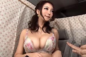 【人妻ナンパ】美魔女のルックスにおっぱいの迫力!