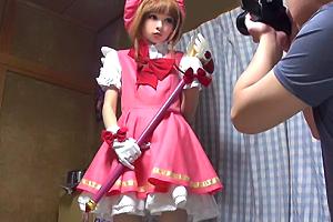 【個人撮影】リカちゃん人形みたいな少女を連れ込んで…