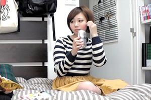 関西弁の美少女お持ち帰り、そのまま無許可ハメ撮り盗撮