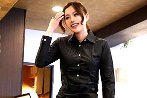 (シロウトキャッチ)170cm&桃尻のカフェ店員にナカ出し → お掃除フェラチオ☆