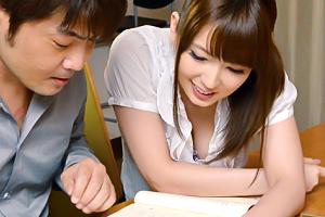 波多野結衣 家庭教師のお姉さんが色っぽすぎて勉強どころじゃない