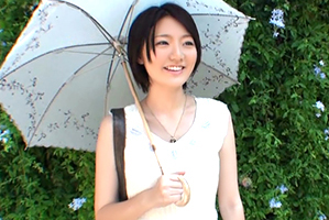 (シロウトキャッチ)京都の透明感溢れる純粋奥さんと火遊びSEX