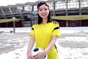 仙台出身の女子サッカーなでしこ候補生がAVデビュー!