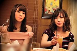 【隠し撮り】相席居酒屋で出会った期待を上回る美人OLと4P!