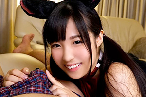 栄川乃亜 この笑顔にこの衣装。カワイすぎる美10代小娘の朝