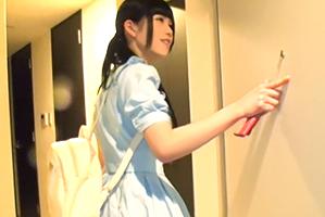 【山手線ナンパ】前髪ぱっつん美少女のお洒落マンションでSEX!