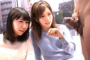 【MM号】究極の羞恥!美人外大生を親友の目の前でガン突き!