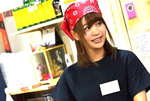 『アカン…もぅヤバイ…』関西弁でイク姿がエロいお好み焼き屋店員