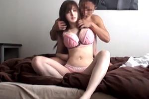 【素人】Hカップ爆乳女子大生の盗撮SEX横流し映像