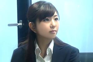 【素人】読売・黒木アナ似のメーカーOLが賞金欲しさに同僚とSEX!