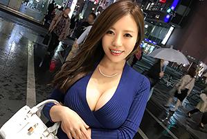 【素人】雨の東京でナンパしたメロンサイズの爆乳したセクシー塾講師