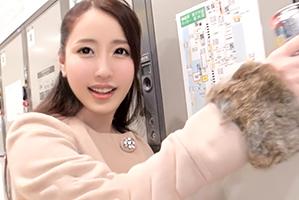 【素人】Fカップがバインバイン!新宿駅でほろ酔い社長令嬢をナンパ!