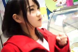【素人】大阪のロリ巨乳18才を梅田デートで心開いて処女ゲット!