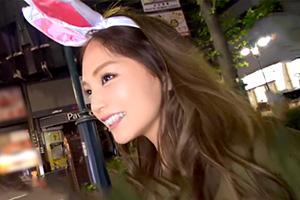 ハロウィン明けの渋谷で終電逃した博多美人をナンパ!