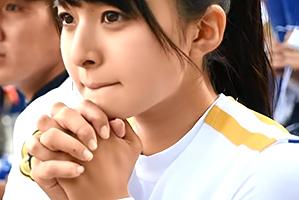 【ガチ】甲子園中継で話題になった美少女チアがAVデビュー!