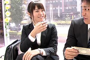 【MM号】新卒の営業レディが賞金欲しさでガチ上司とSEX!