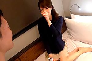 【素人】上品な大人のスレンダー美女を盛岡でナンパ!