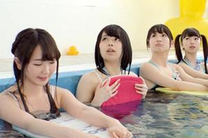 夏休みの楽しみといったらコレだよなwww|素人 スク水 プール 中出し 学校 美少女