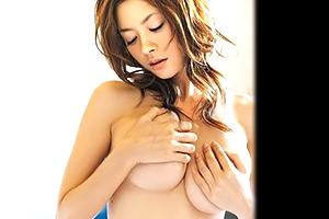 【芸能人・女優】Gカップ・真木よう子の美爆乳鷲掴み騎乗位!