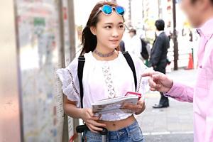 留学にやってきた台湾美少女をナンパして中出し!