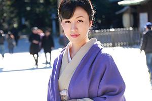 三浦翔子 和服美女が数年ぶりのSEXに乱れ狂う