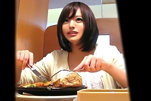 【盗撮】武蔵小山でナンパした食欲・性欲旺盛な美乳女子大生