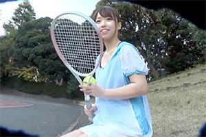 【奇跡】テニサーの姫(20) がAVデビューwww
