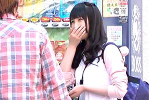 【素人】下北沢で街並み撮ってたサブカル系大学生をナンパ!