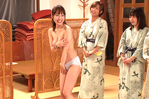 【バスツアー】ジャンケンで勝ったユーザーが巨乳美女と3P!