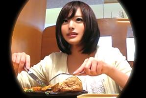 【ナンパ in 武蔵小杉】食欲&性欲旺盛なケーキ屋店員に中出し