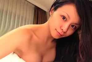【Ecup乳首モロ】misonoの「ラブホ全裸画像」本物だった…