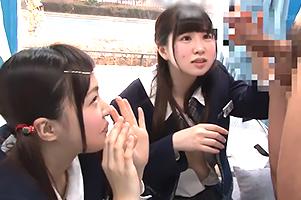 【素人】原宿で処女喪失する秋田から来たおぼこい修学旅行生