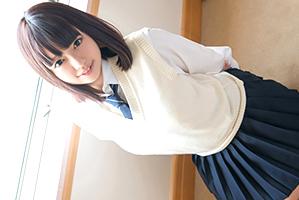 【円光】バリバリッ!と胸のボタンが弾け飛びそうなムッチリ爆乳女子校生
