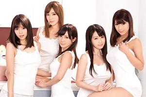 7人のモデル級姉妹を独占してヤリまくりのハーレム同棲生活!