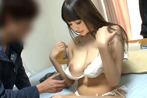 RION バスト105センチの神乳美女を素人ファン宅にやりたい放題のレンタル!