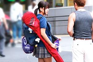 【ナンパ】部活帰り!青春の匂い漂う美少女ラクロス部とカーSEX!