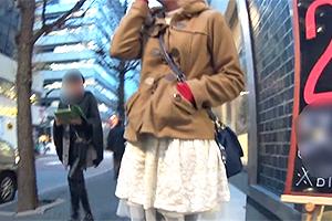 【ナンパ in 表参道】コートの下に超絶美巨乳を隠してた法学部