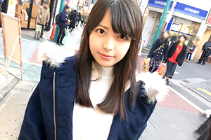 【素人】下北沢の商店街でナンパした隠れFカップの漫画家アシ