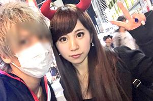 【素人】今年もギャルが入れ食い状態だった渋谷ハロウィンナンパ!