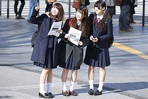 【素人】AVの企画だと知らずマジックミラー号に乗った秋田の修学旅行生たち!