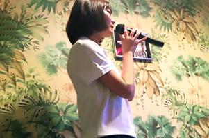 【個人撮影】カラオケBOXで熱唱した後に、彼氏とエッチするポロシャツJKのハメ撮り流出!