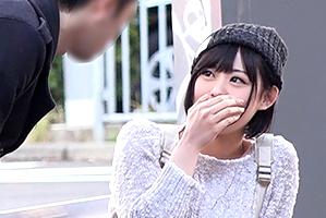 【素人】関東近郊のナンパスポットで粘り続けた末に、フェラが異常に好き過ぎる変態美少女をゲット!